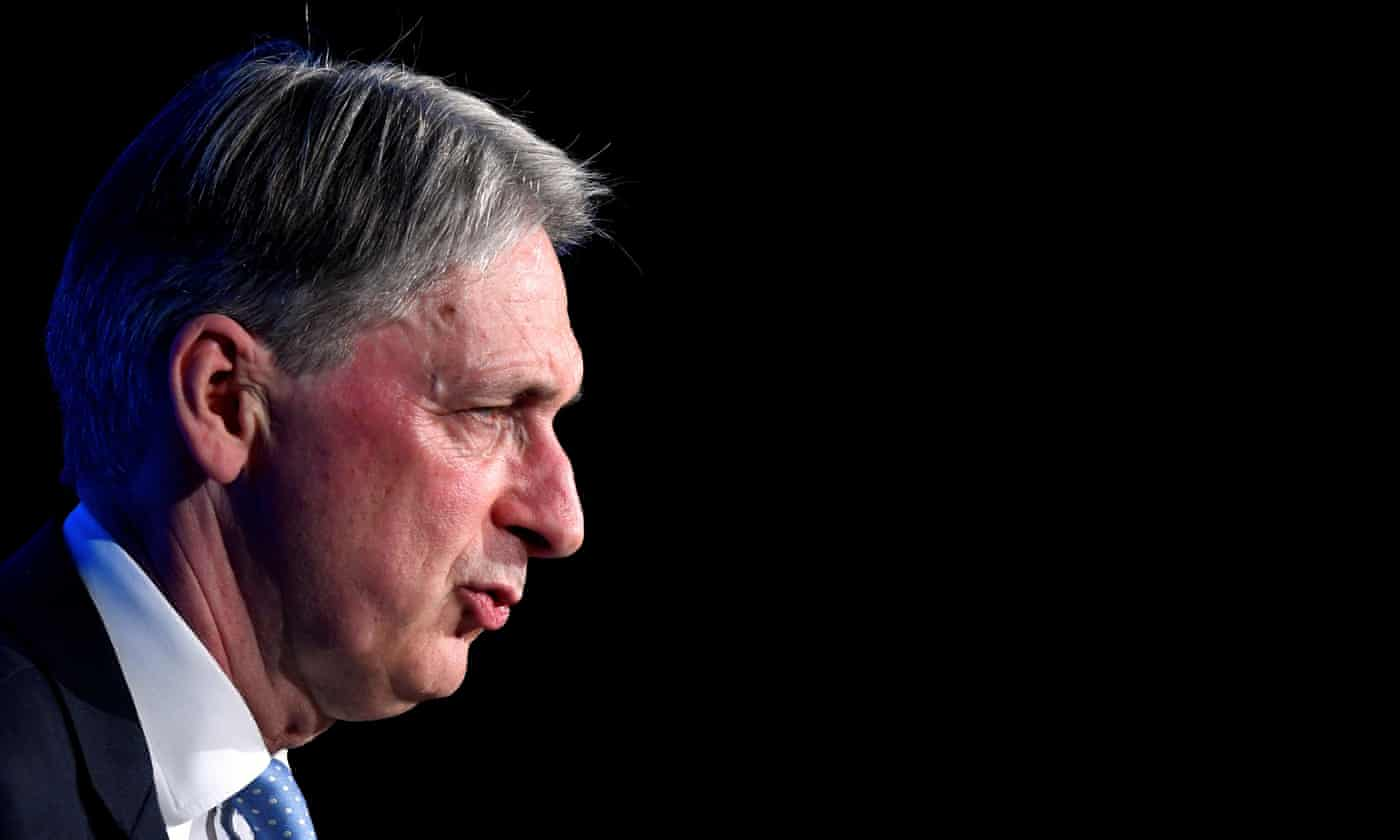 Hammond: no-deal Brexit will quash new PM's spending plans