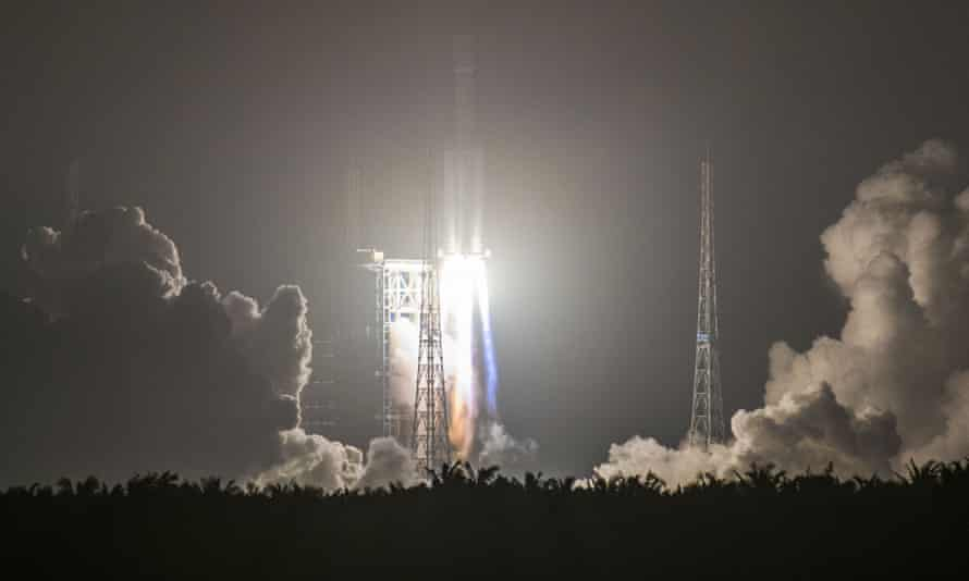 China launches its first cargo spacecraft Tianzhou-1, which docked with space laboratory Tiangong-2 to provide fuel and supplies, and conduct experiments.