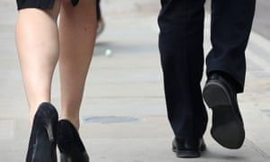 Embargoed to 0001 Tuesday January 20 File photo dated 19/08/14 of workers in the City of London, as nearly one in five women believe it is almost impossible for a female to reach a senior management role in business, according to a report. PRESS ASSOCIATION