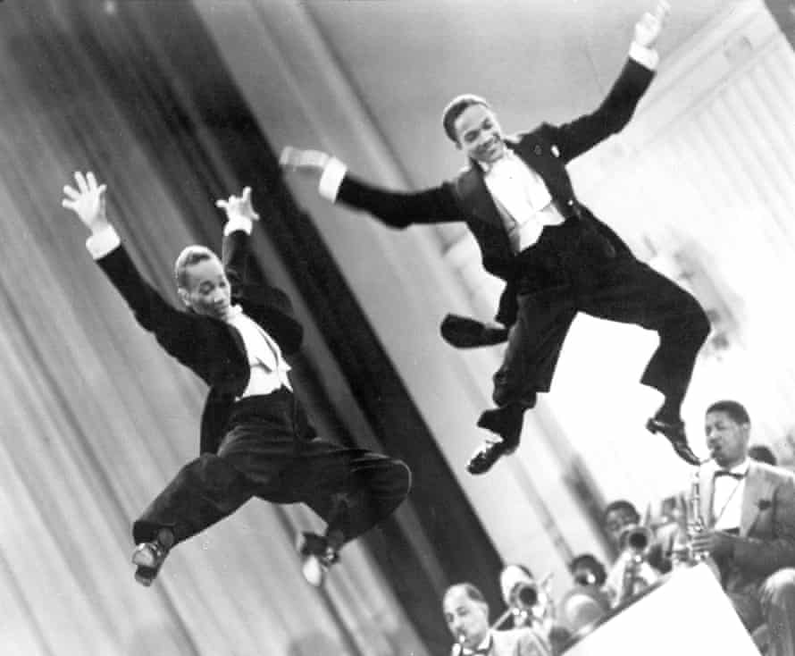 Stormy Weather (1943) Directed by Andrew L. Stone Shown from left: Fayard Nicholas, Harold Nicholas Fabulous Nicholas Brothers press image supplied by Gemma Cole Production Manager elevenfiftyfive.com 07794166846