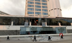 The Kingsbury hotel in Colombo, which was targeted in the Easter Sunday bombings
