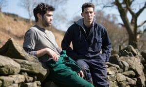 Alec Secareanu and Josh O'Connor in God's Own Country: the sexiest film of the year.