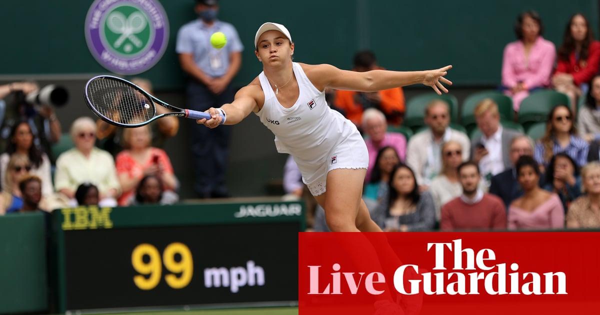 Wimbledon 2021 women's singles final: Ashleigh Barty v Karolina Pliskova – live!