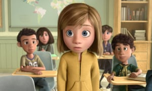 New kid in class … Riley in Inside Out.