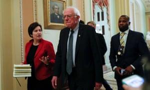 Bernie Sanders: close race.