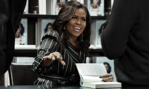 Michelle Obama on her book tour: 'I still have a little Impostor Syndrome.'