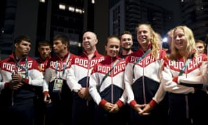 The Russian team