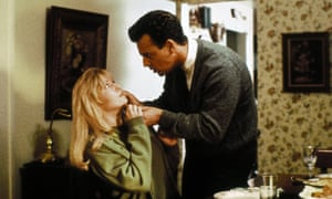 Sheryl Lee and Ray Wise as Laura and Leland Palmer.