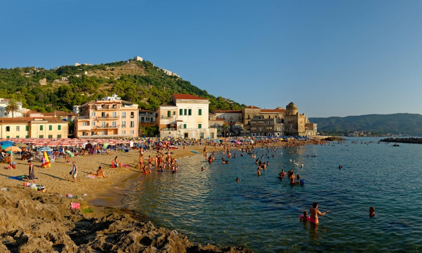 Spending Holiday at the Beach in the Cilento