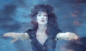 Kate Bush, shot for her 1989 album The Sensual World.