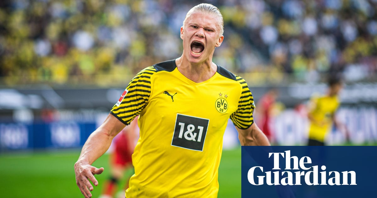 Erling Haaland double starts Borussia Dortmund campaign in style