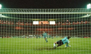 Gareth Southgate has his penalty saved.