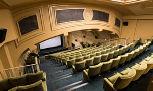 General view of the interior of the Regent Cinema