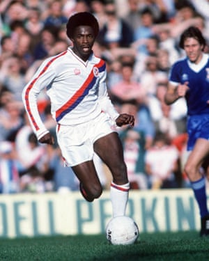 Hilaire on the wing for Crystal Palace in 1979.