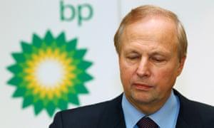 BP's chief executive, Bob Dudley