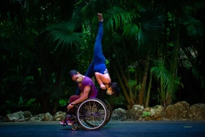Miami, Florida. Professional dancers with and without disabilities reflect on the pandemic