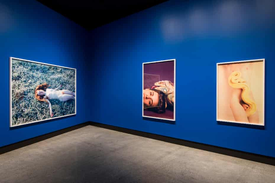 India (Frost) (2013), Anne Marie (Iguana) (2012), Albino (Milky) (2012), by American photographer Ryan McGinley