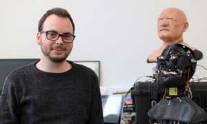 Carl Strathearn, PhD candidate at Staffordshire, is developing a robotic 'eye' with dilating pupils