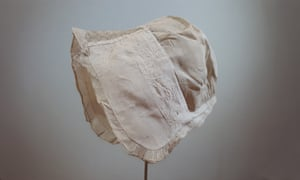 One of the exhibition's star items is Dorothy Wordsworth's baby bonnet, the only item from her and William's childhood to survive.