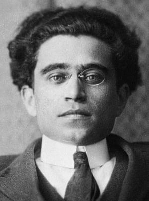 Antonio Gramsci, the Italian Marxist theoretician and politician.