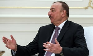 Ilham Aliyev, president of Azerbaijan: 'There is no freedom in Azerbaijan, unless it is the freedom of the ruling gangsters to rob and menace with impunity.'