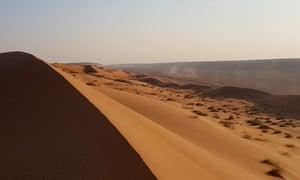 A desert in Oman