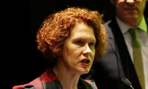 MCA director Elizabeth Ann MacGregor.