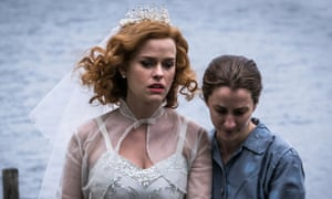 Gwenda Vaughan (Alice Eve) and Kirsten Lindstrom (Morven Christie) in the BBC's Ordeal By Innocence