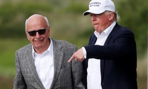 Rupert Murdoch called Trump 'a fucking idiot' over his immigration views, according to a new book.
