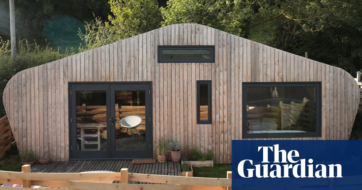 A stay in a cool cabin at the bottom of a Welsh garden – birdsong included
