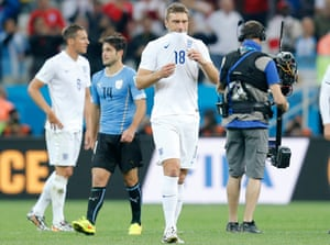 Rickie Lambert's World Cup consisted of a few minutes against Uruguay. His advice for Gareth Southgate: 'Change the team, play the right team for every game.'