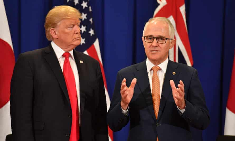 Donald Trump told Malcolm Turnbull, in a now infamous phone call, 'You are worse than I am.'
