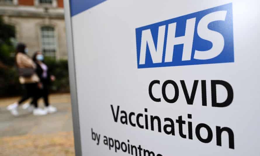 A Covid-19 vaccination centre.