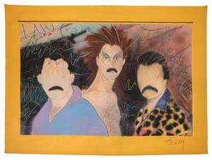 Las Locas, c1980 by Teddy Sandoval as featured in Axis Mundo: Queer Networks in Chicano LA