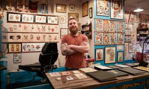 AJ Rundell of the Follow Your Dreams tattoo shop rejects the idea that online shopping has hurt the high street.