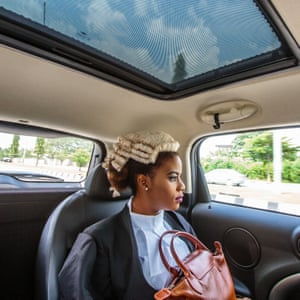Ginika, a Nigerian law graduate on her way to a ceremony in Abuja after being called to the bar. Follow Tom on Instagram: @tomsaater