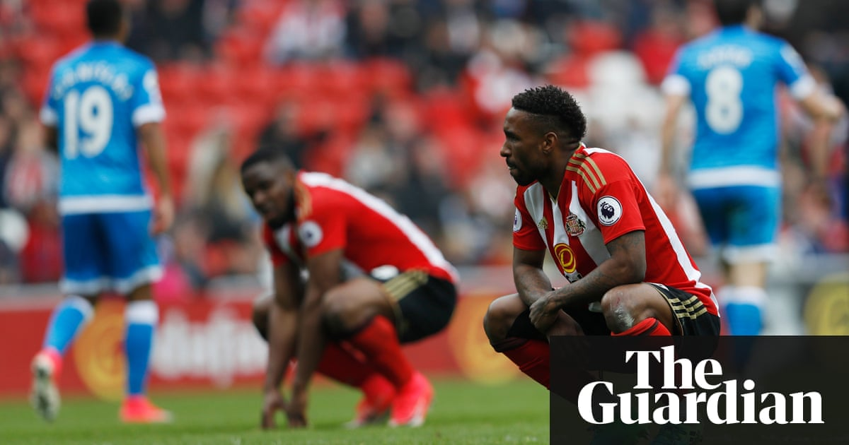 Sunderland relegated from Premier League after defeat by ...