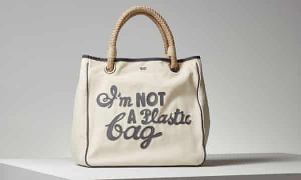 Not a plastic bag: the tote that caused a sensation.