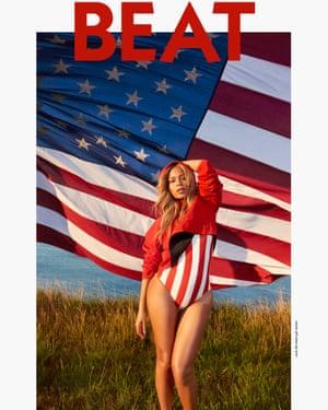 Beat magazine's Beyoncé cover.