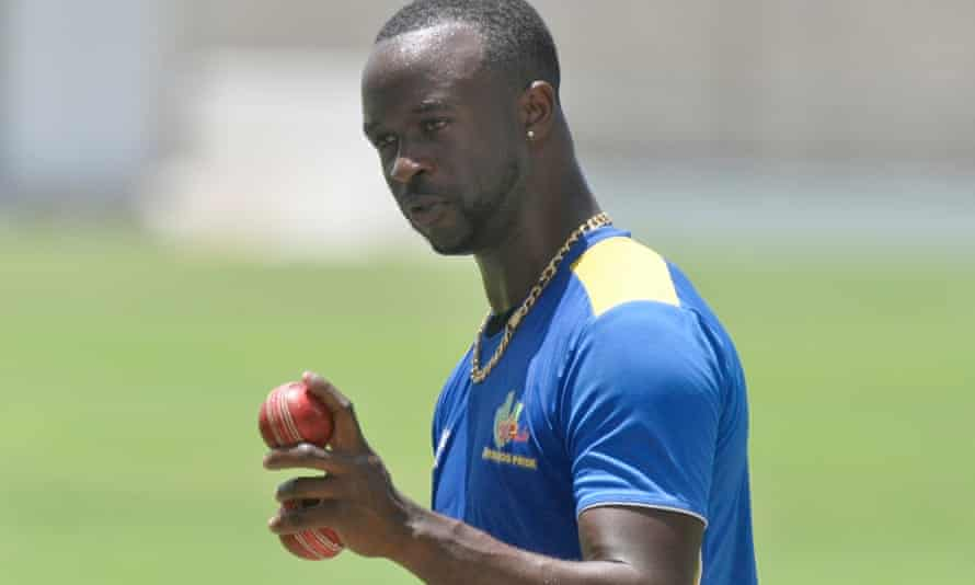 Kemar Roach was among the players who returned to West Indies training.
