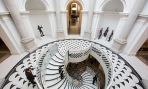 Restoration and renovation work nears completion at Tate Britain.
