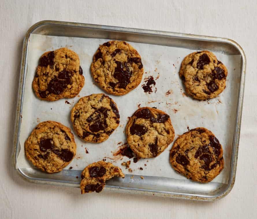 Meera Sodha's vegan chocolate chip cookies.