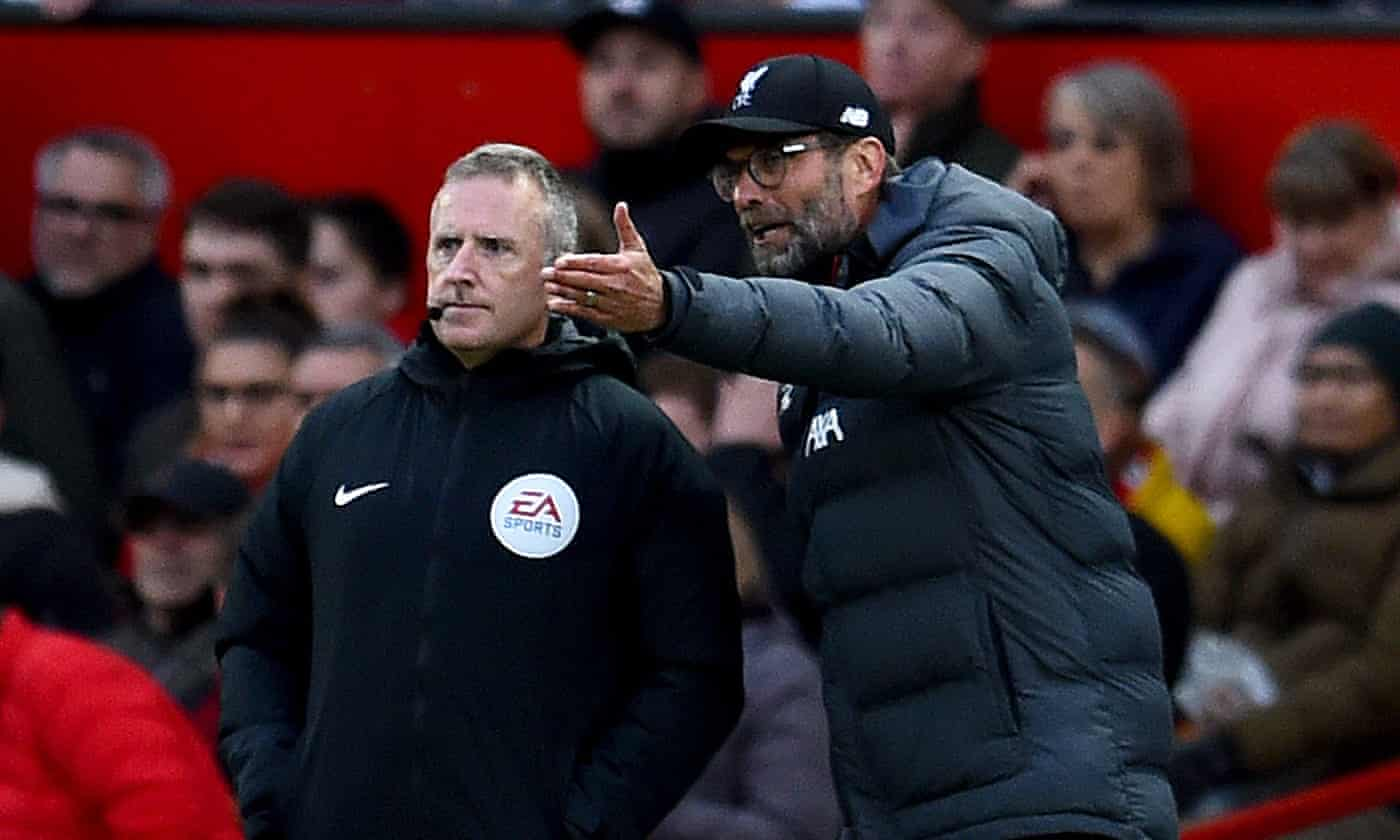 'This is an issue we have to discuss': Klopp hits out at VAR after United draw