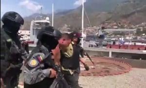 An arrest in Venezuela after the alleged US incursion