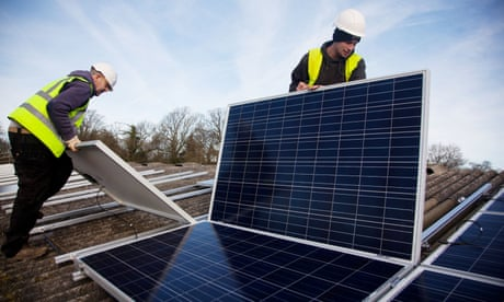 The government's efforts to kill off the solar industry and lead us to fracking hell