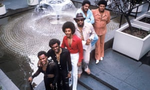 The Isley Brothers, photographed in 1975.