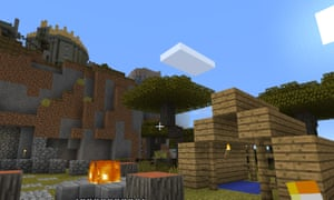 The Oculus version of Minecraft gets you up close and personal with the cows and creepers