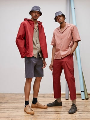 Up with the sunStudio Nicholson has elevated the summer basics with a timeless feel. We love the blush and rosy tones with slate grey and taupe. Trends are ticked off with bucket hats and wide-leg trousers. Prices from £95, studionicholson.com