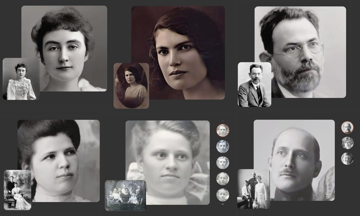 Deep Nostalgia: 'creepy' new service uses AI to animate old family photos |  Technology | The Guardian