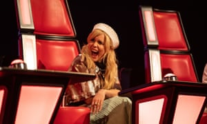 Faith as a judge on The Voice Kids earlier this year.